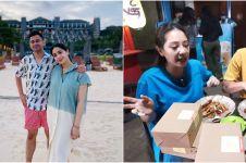10 Momen Nagita & Raffi borong jajanan, pindahin angkringan ke rumah