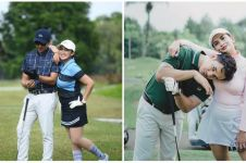 Potret 8 pasangan seleb main golf, jadi ajang quality time romantis