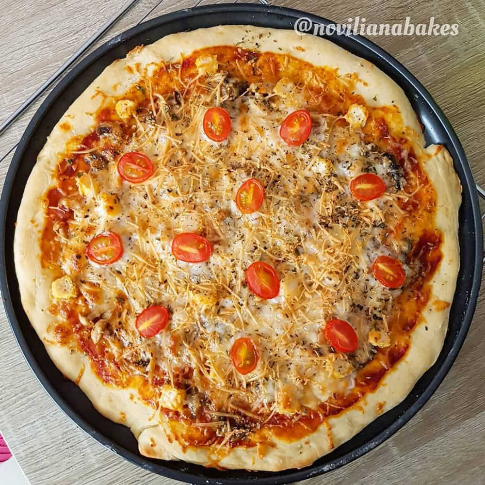 Resep pizza rumahan Instagram