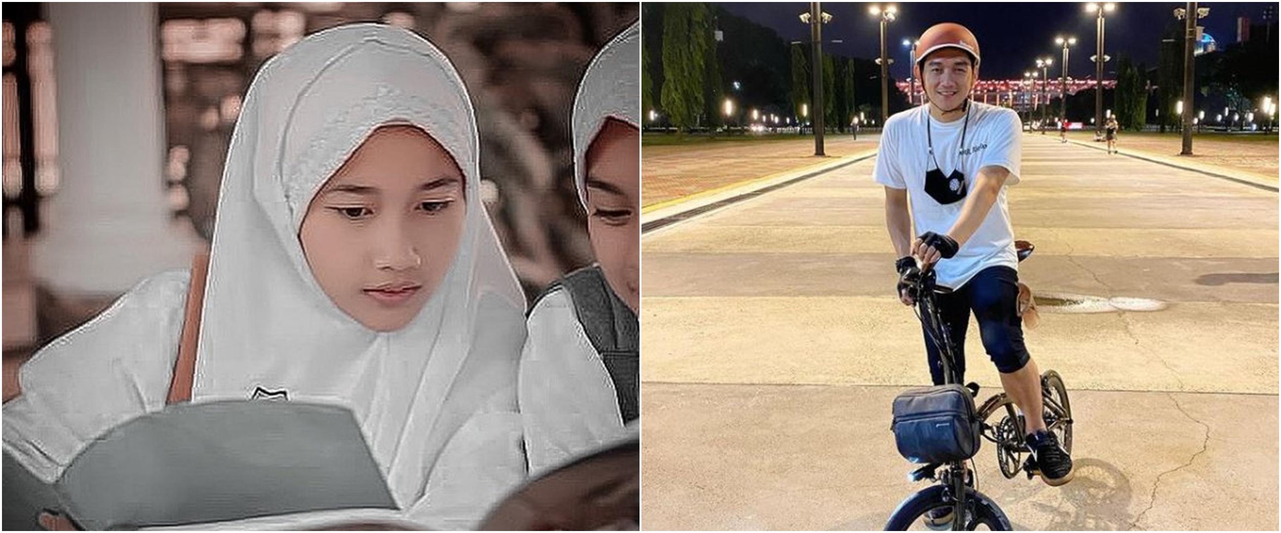 9 Potret Rania anak Ifan Seventeen dari istri pertama, jadi santri