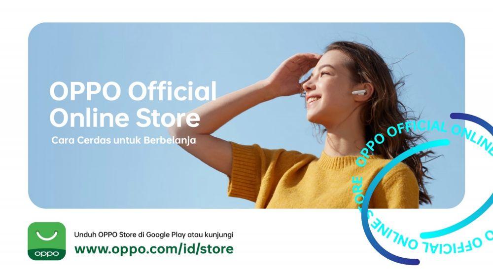 Oppo Store resmi dibuka © 2021 brilio.net