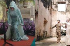8 Potret Rakhma Lutfita, mempelai wanita viral karena patahkan besi