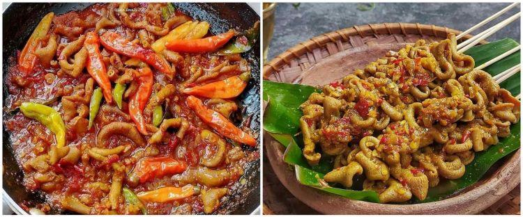 10 Resep masakan usus ayam pedas, enak dan bikin nagih