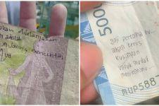 10 Tulisan lucu di uang kertas ini bikin yang baca baper abis