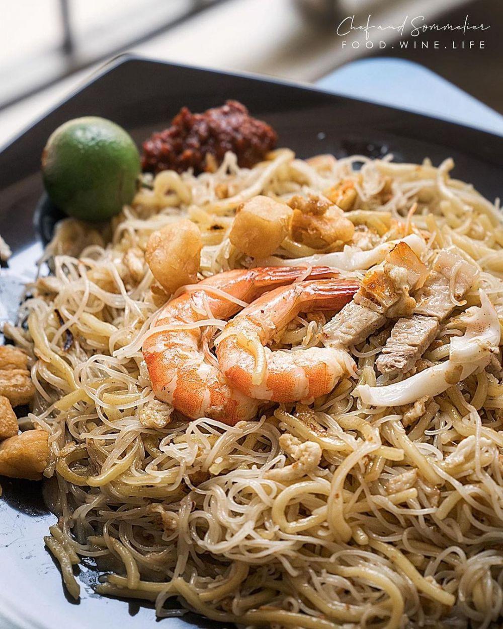 Makanan oriental yang menggugah selera Instagram