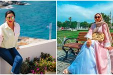 10 Gaya outfit Ashanty saat liburan ke Dubai dan Turki, stylish abis