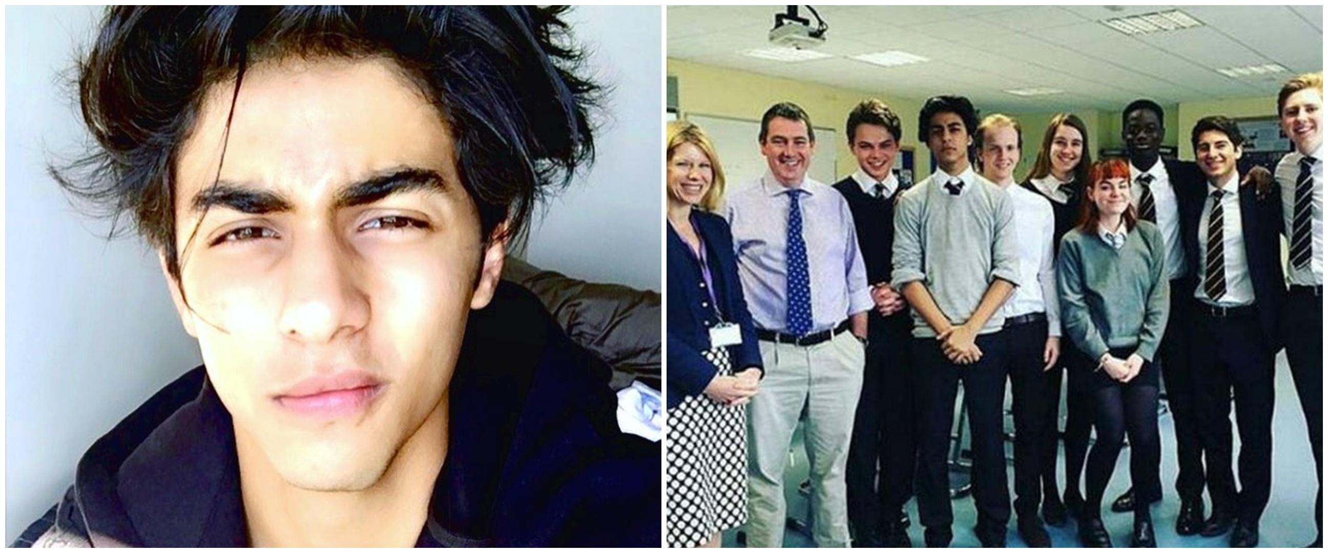 10 Potret lawas Aryan Khan saat sekolah di London, jarang tersorot
