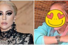 Biasa makeup tebal, ini 10 potret Lady Gaga tampil natural