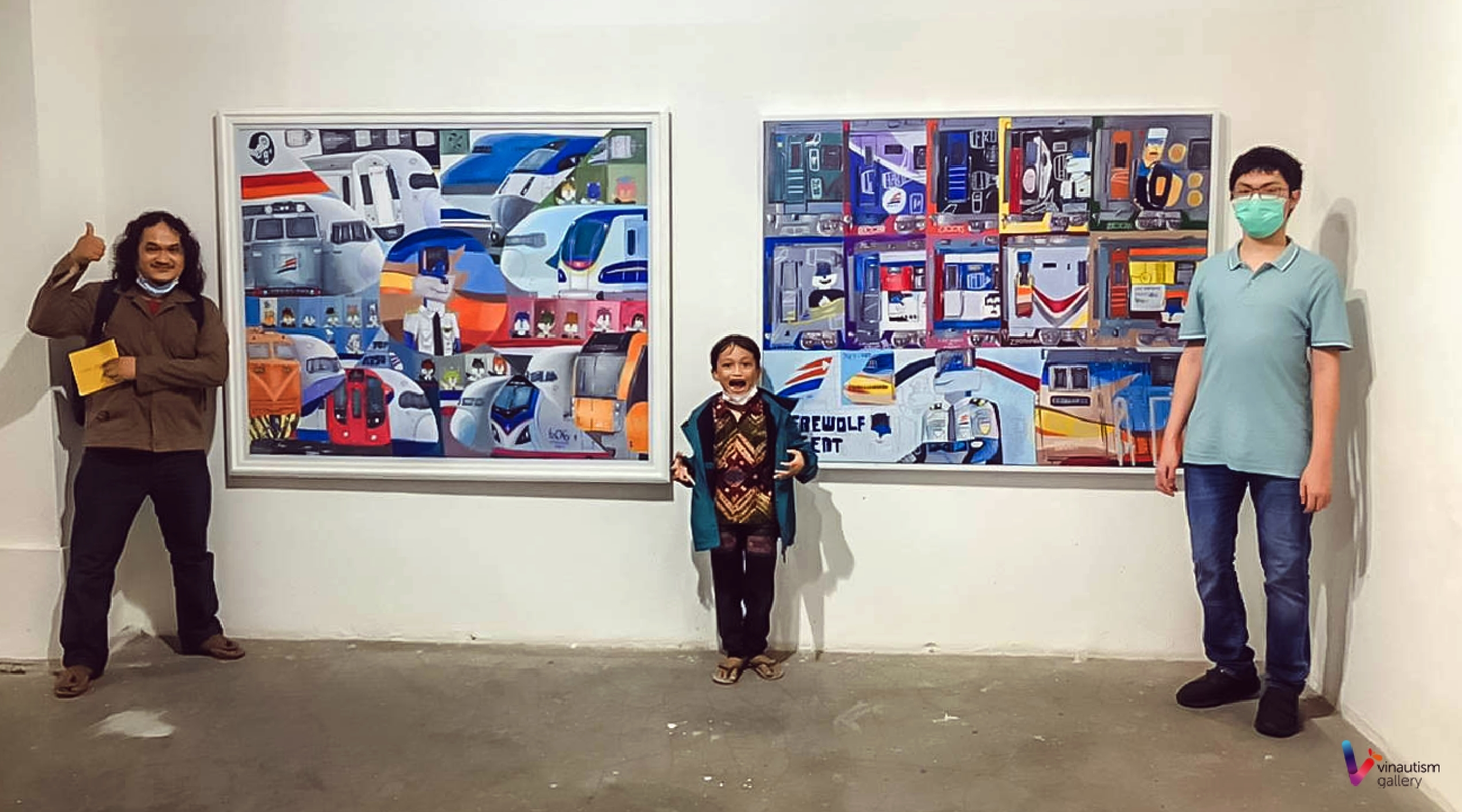 Remaja penderita autis ini gelar pameran tunggal lukisan di Yogyakarta