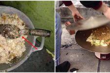10 Momen lucu masak pakai alat seadanya ini kocak abis