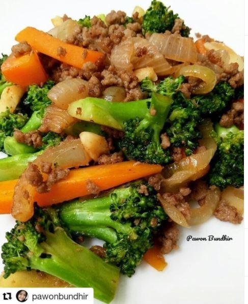 10 resep tumis daging cincang © berbagai sumber