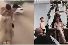 10 Momen apes ketika foto prewedding, bikin mau ketawa tapi takut dosa