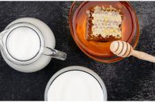 10 Manfaat minum susu & madu bersamaan, bantu mengurangi stres