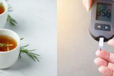 10 Manfaat teh rosemary bagi kesehatan, turunkan gula darah