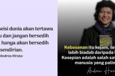 50 Kata-kata bijak Andrea Hirata, inspiratif, dan penuh makna