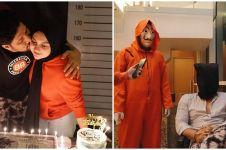 10 Momen perayaan ulang tahun Ammar Zoni ke-28, kuenya curi perhatian