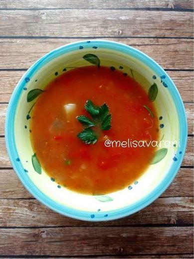 10 resep sup tomat © berbagai sumber