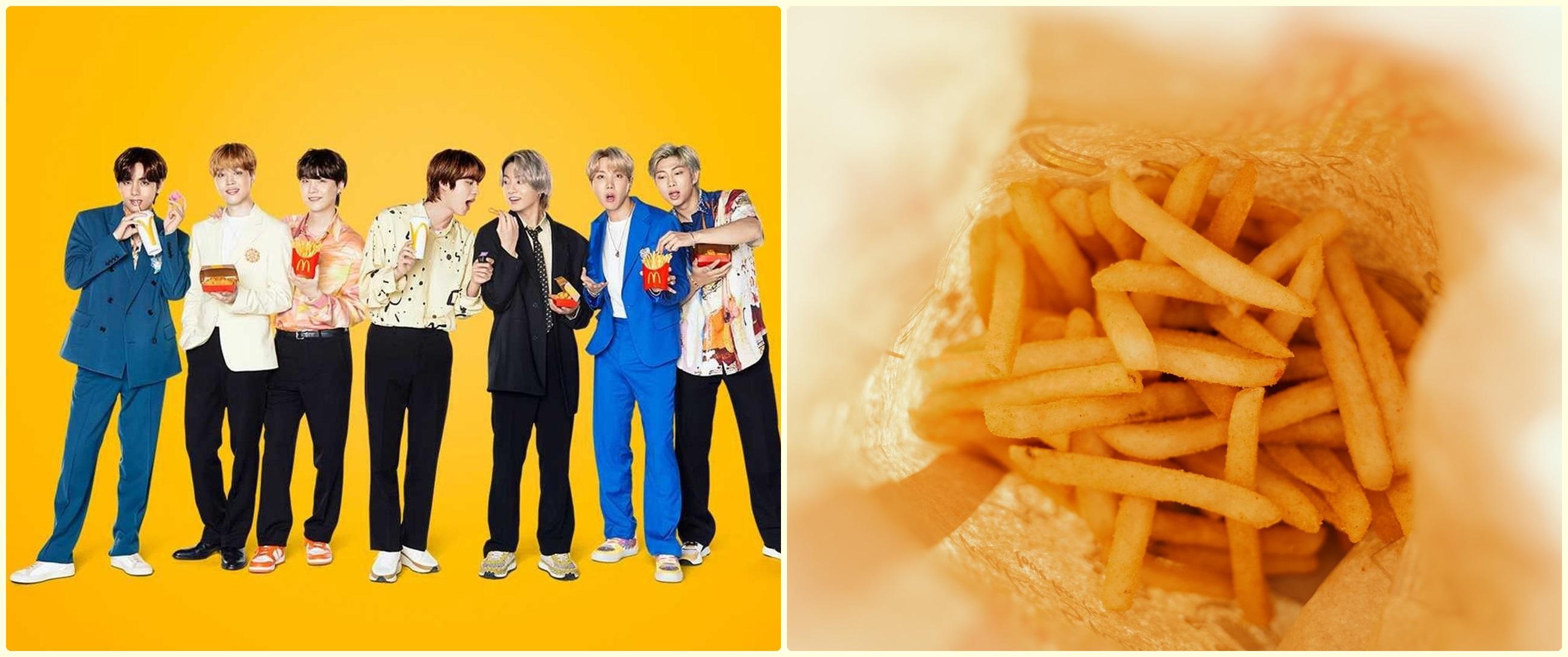 Resmi rilis hari ini, begini potret antrean pembeli BTS Meal