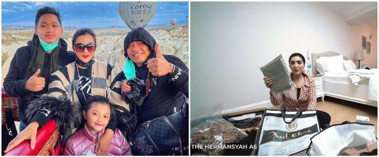 10 Potret isi koper Ashanty pulang dari Turki & Dubai, penuh oleh-oleh