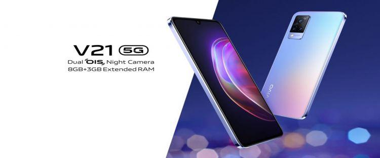 Harga Vivo V21 5G, lengkap dengan kelebihan dan kekurangannya