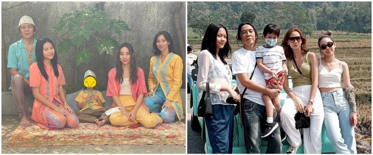 7 Momen Bimbim Slank liburan ke Jogja, syahdu nikmati persawahan