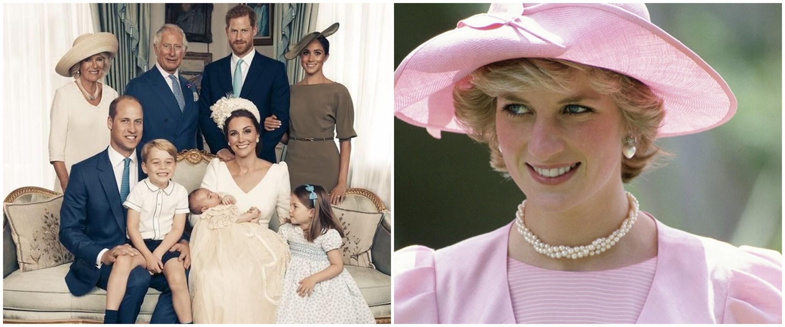 Foto masa kecil 10 anggota kerajaan Inggris, Pangeran William gemesin