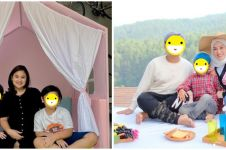 Gaya 7 istri komedian saat momong anak, Nathalie Holscher stylish