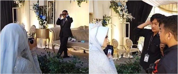 Viral mempelai wanita ambil alih tugas fotografer, suami jadi modelnya