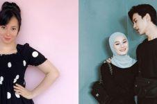 Gaya 10 pesinetron rayakan baby shower, Dinda Hauw sederhana