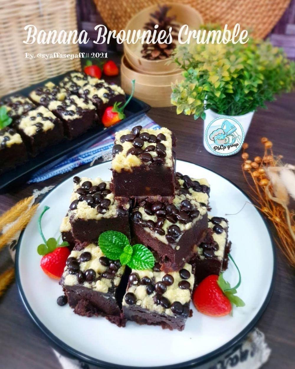 resep brownies pisang instagram