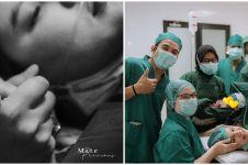 10 Momen kelahiran buah hati pertama Brina Shabyna, istri Komo Ricky