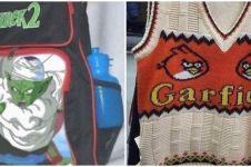 10 Tulisan lucu mirip brand terkenal di pakaian & tas ini ngaco abis