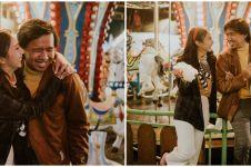Berkonsep monokrom, ini 7 gaya prewedding Joshua Suherman & kekasih