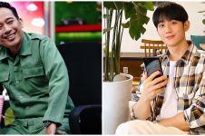 Editan foto Denny Cagur bareng Jung Hae-in ini bikin warganet gemas