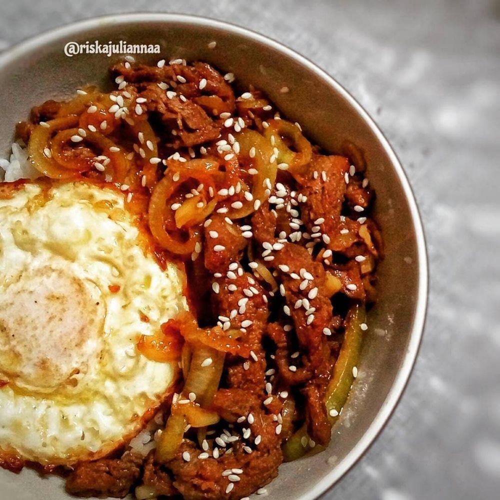 10 Resep kreasi beef teriyaki ala rumahan © berbagai sumber
