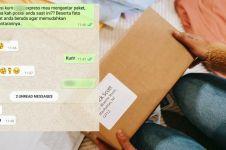 10 Chat lucu kurir mau antar paket COD ini endingnya penuh drama