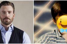 Ulang tahun ke-40, ini 10 potret transformasi Chris Evans dari kecil