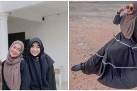 7 Momen Ricis pulang ke Batam dengan kedua kakaknya, bawa misi mulia