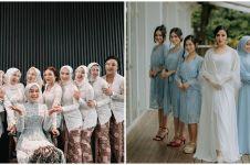 Potret bridesmaid 10 penyanyi muda, Lesty Kejora bertaburartis