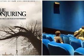 Viral video penonton bioskop kesurupan saat saksikan The Conjuring