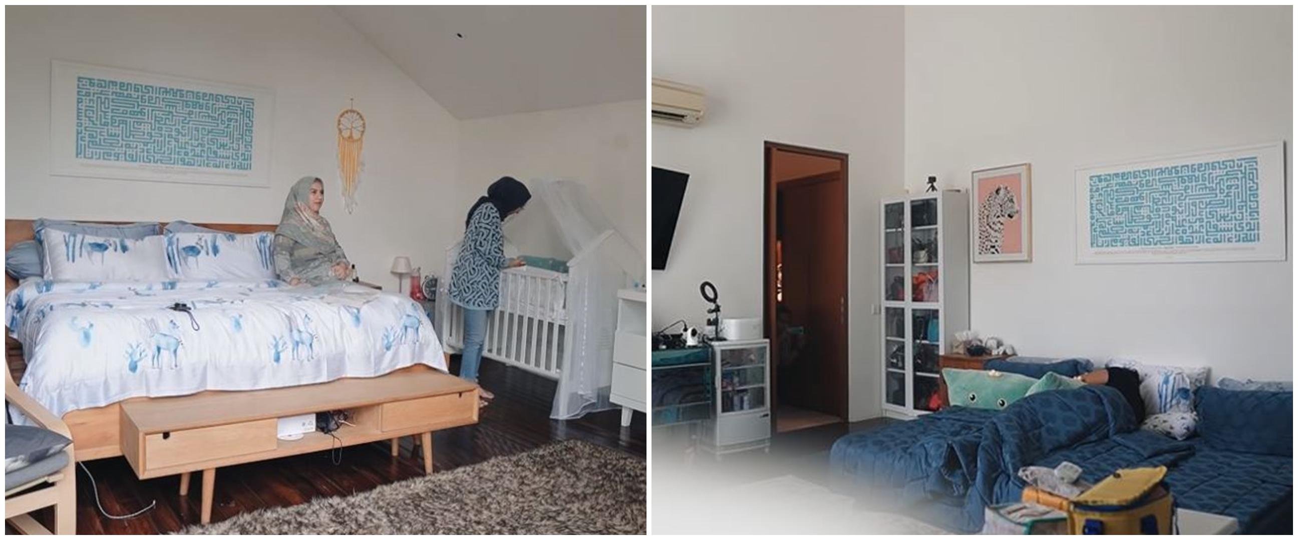 10 Potret terbaru kamar Irish Bella usai punya anak, tanpa dipan kasur