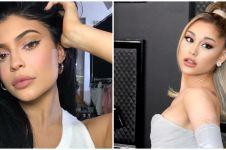 5 Seleb Hollywood ini tunjukkan rambut asli, Ariana Grande beda banget