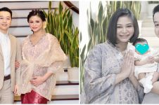 10 Momen Kartika Sary adik Yuni Shara gelar akikah anak, penuh khidmat
