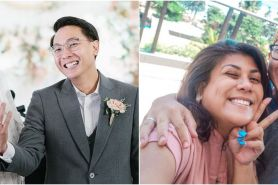8 Momen honeymoon Regina Ivanova dan suami, kerja sambil liburan
