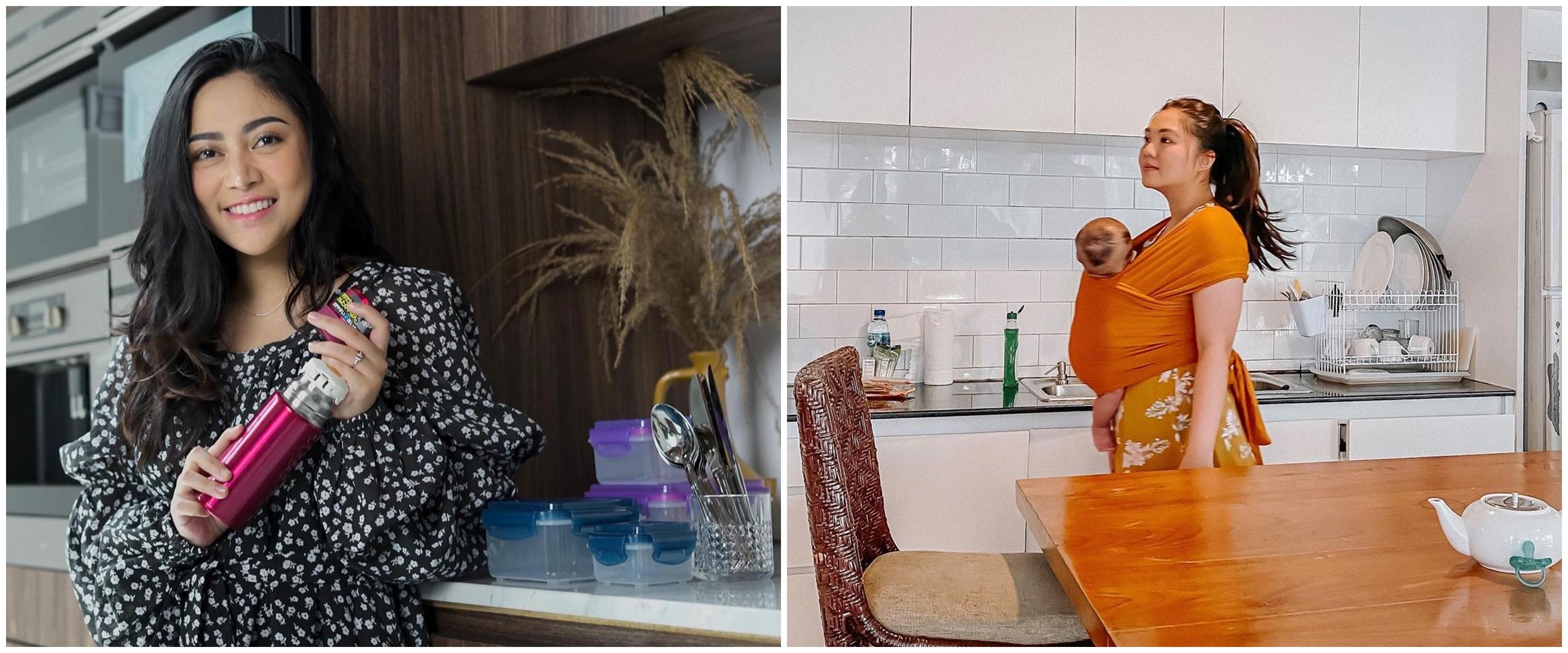Penampakan dapur 7 selebgram, milik Anya Geraldine minimalis