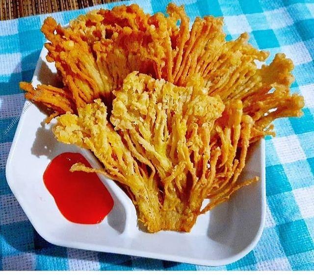 7 Resep jamur enoki kekinian © berbagai sumber