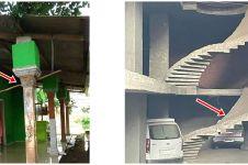 10 Potret lucu bangunan dipasang terbalik ini bikin gagal paham