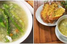 8 Resep sup asparagus, sehat dan cocok untuk hangatkan badan