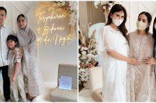 10 Momen tasyakuran 4 bulan kehamilan Nagita Slavina, penuh doa