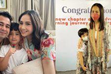 10 Momen Raffi Ahmad & Nagita rayakan wisuda Rafathar, beri kado iPad